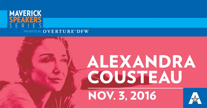 Alexandra Cousteau Presented By Overture DFW