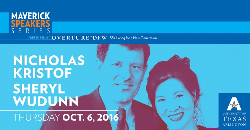 Nicholas Kristof and Sheryl WuDunn Presented By Overture DFW