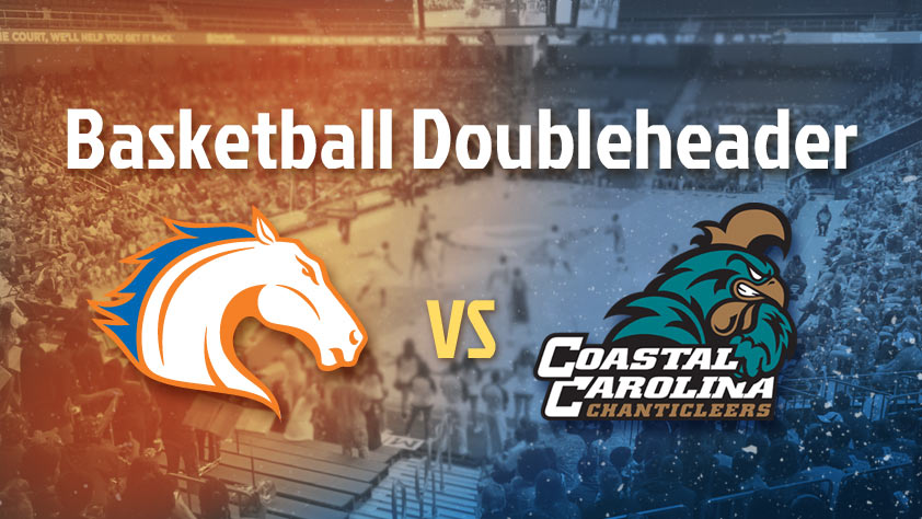 UTA Doubleheader: Men's and Women's Basketball vs Coastal Carolina