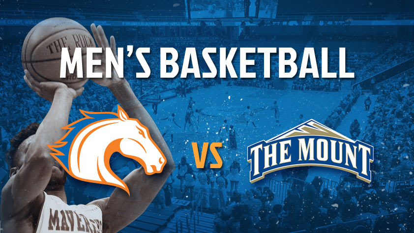 UTA Men's Basketball vs Mount St. Mary's