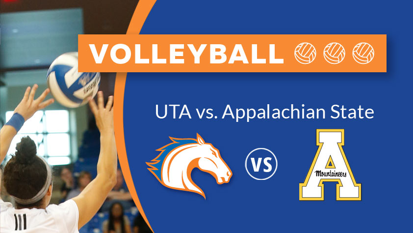UTA Volleyball vs Appalachian State