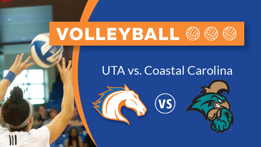 UTA Volleyball vs Coastal Carolina