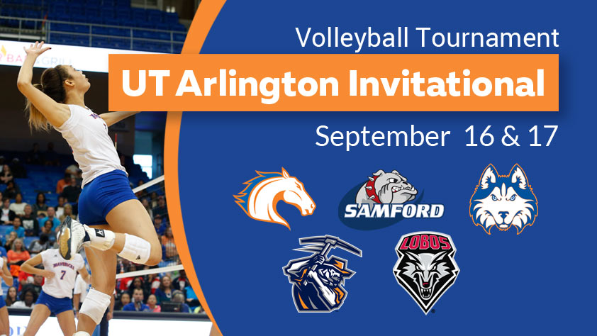 UTA Volleyball Invitational Day 1
