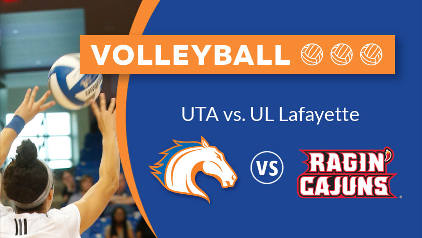 UTA Volleyball vs Louisiana Lafayette