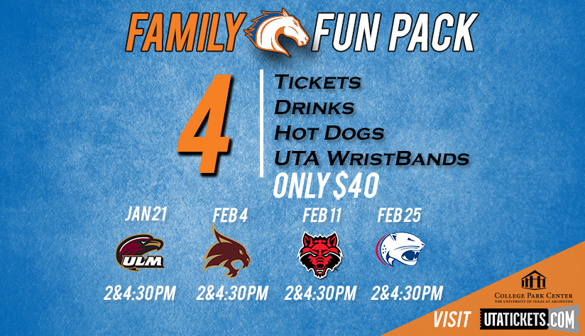 2017 UTA Basketball Family Fun Pack
