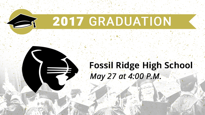 Fossil Ridge High School Graduation