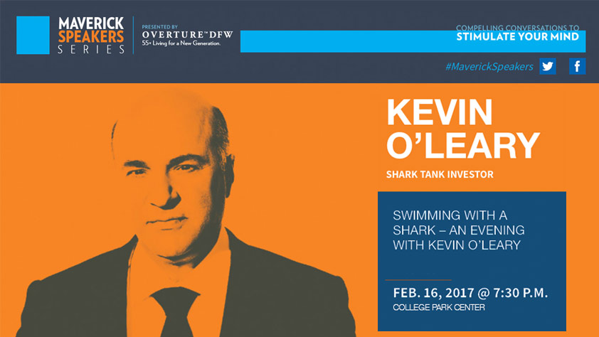 Kevin O'Leary Presented By Overture DFW