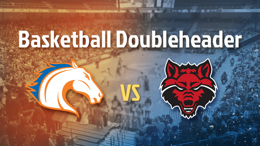 UTA Doubleheader: Men's and Women's Basketball vs Arkansas State