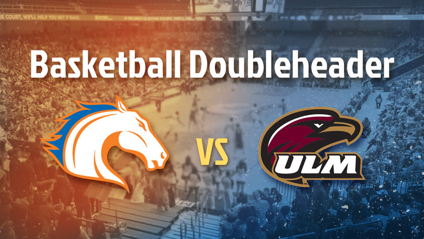 UTA Doubleheader: Men's and Women's Basketball vs ULM