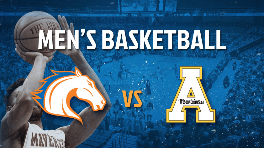 UTA Men's Basketball vs Appalachian State