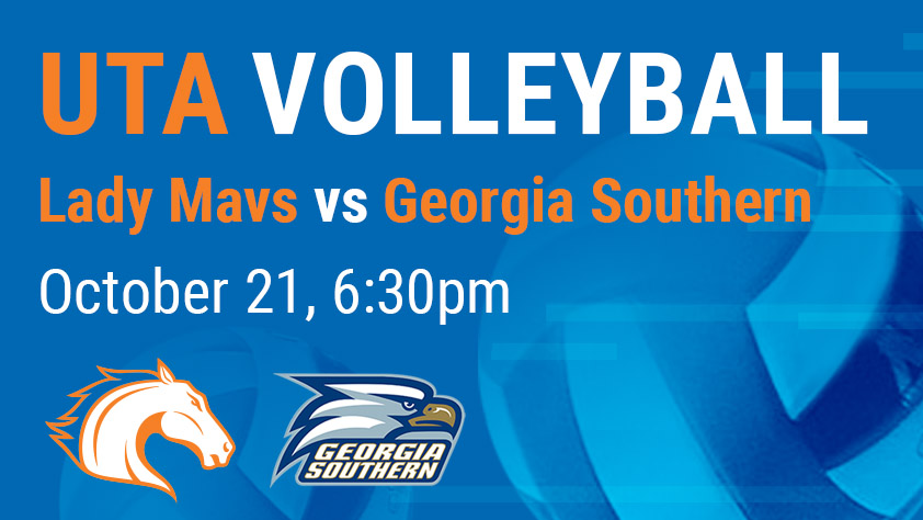 UTA Volleyball vs Georgia Southern - Sponsored by eSix Sportswear