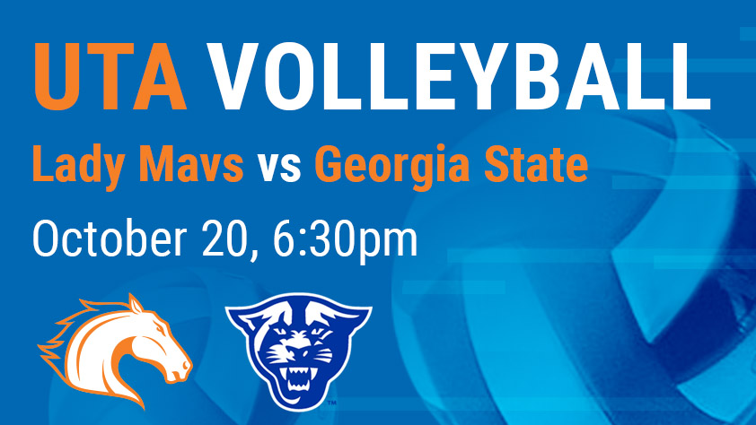 UTA Volleyball vs Georgia State - Sponsored by Liv+ Apartments