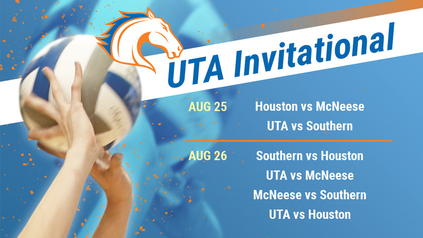 UTA Volleyball Invitational Day 2