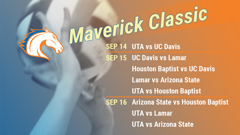 UTA Volleyball Maverick Classic Day 1