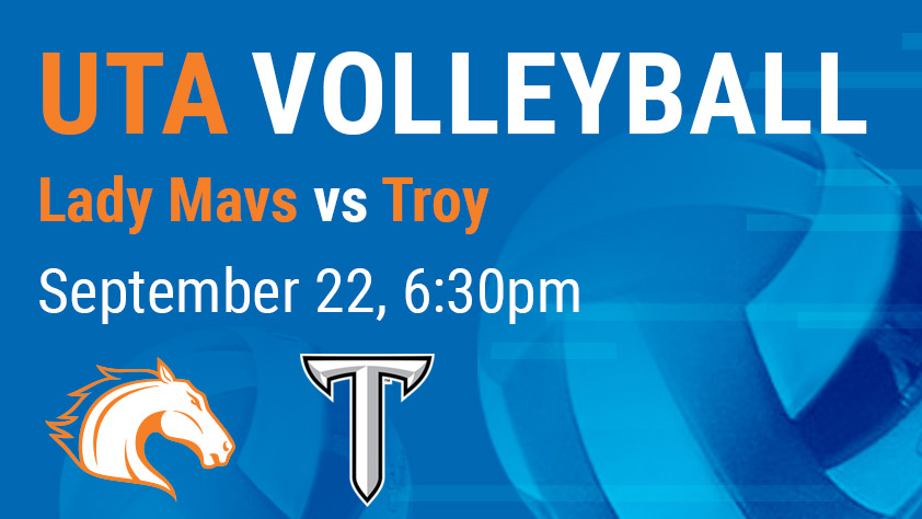 UTA Volleyball vs Troy