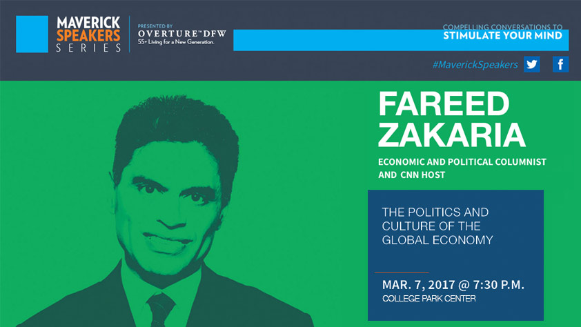 Fareed Zakaria Presented By Overture DFW