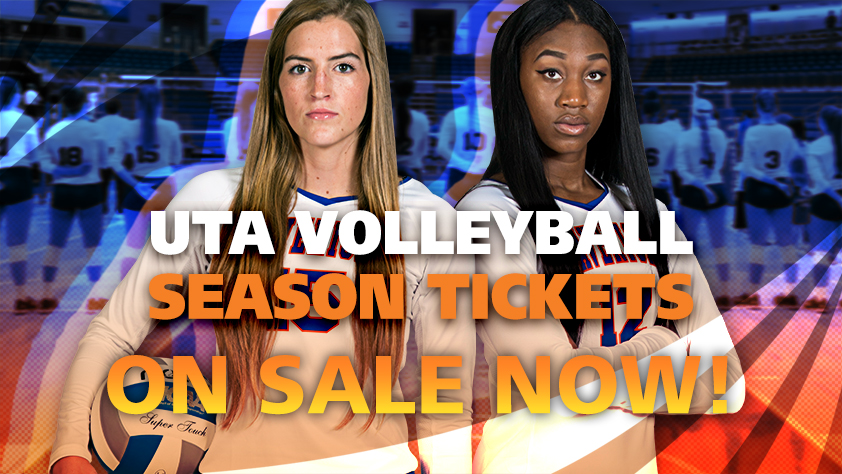 2018 UTA Volleyball Season Tickets