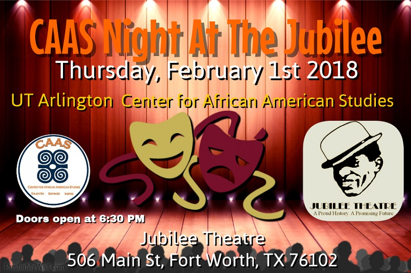 Center for African American Studies Night at the Jubilee!