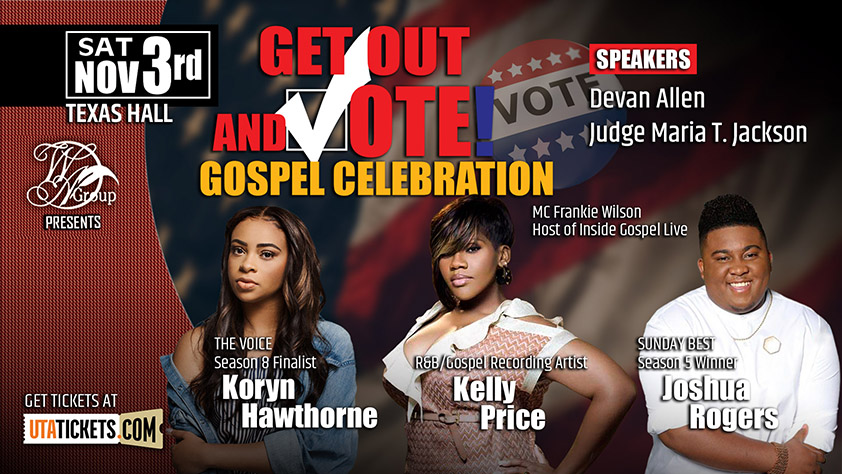 Get out and Vote Gospel Celebration