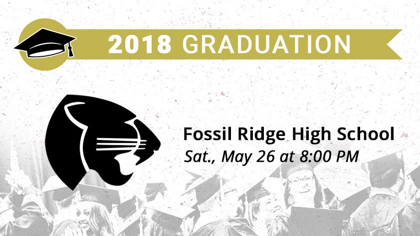 Fossil Ridge High School Graduation — College Park Center — The ...