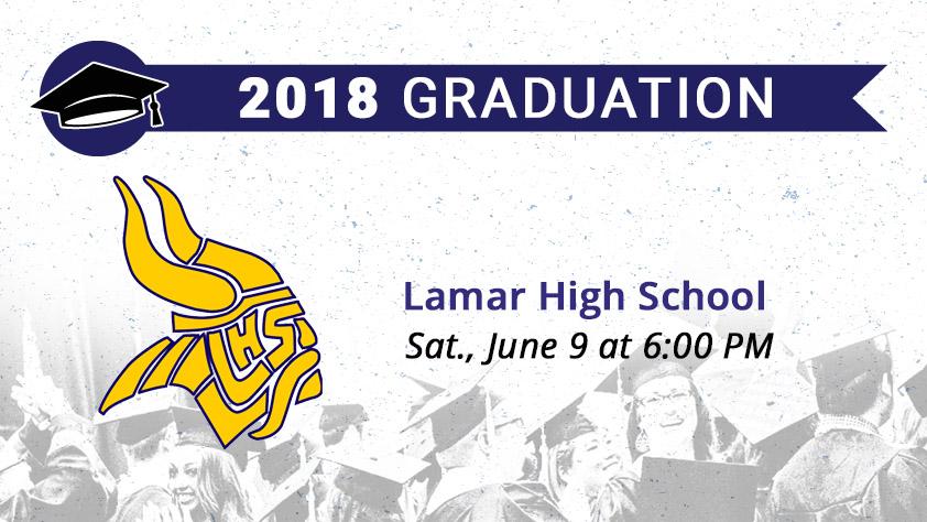 Lamar High School Graduation — College Park Center — The University ...