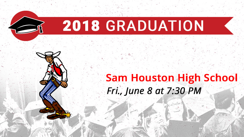 Sam Houston High School Graduation