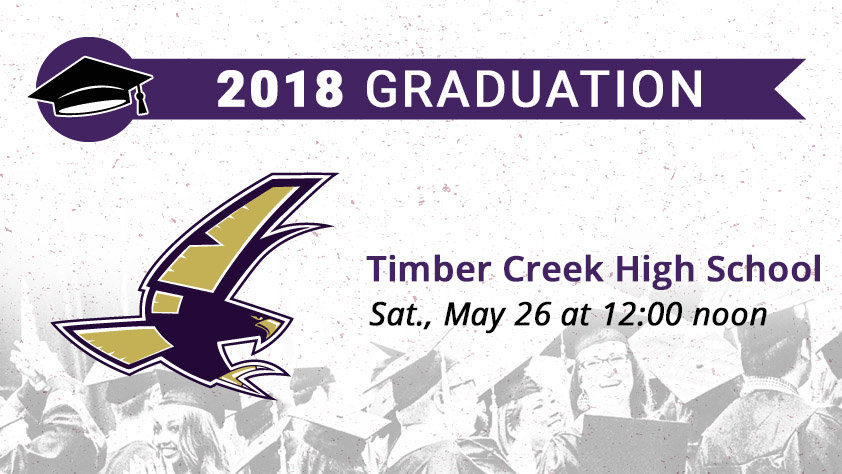 Timber Creek High School Graduation