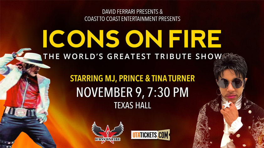 Icons on Fire: Tribute to MJ, Prince, and Tina Turner