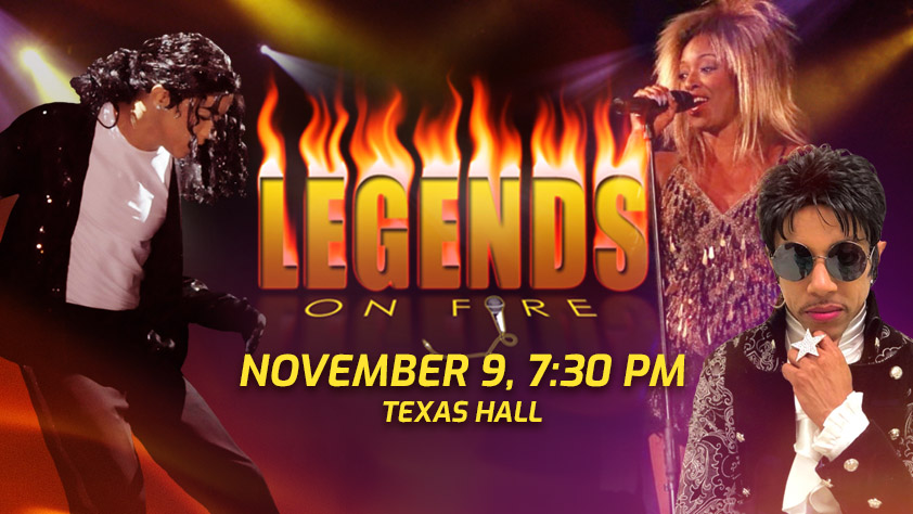 Legends on Fire: Tribute to Michael Jackson, Prince, and Tina Turner