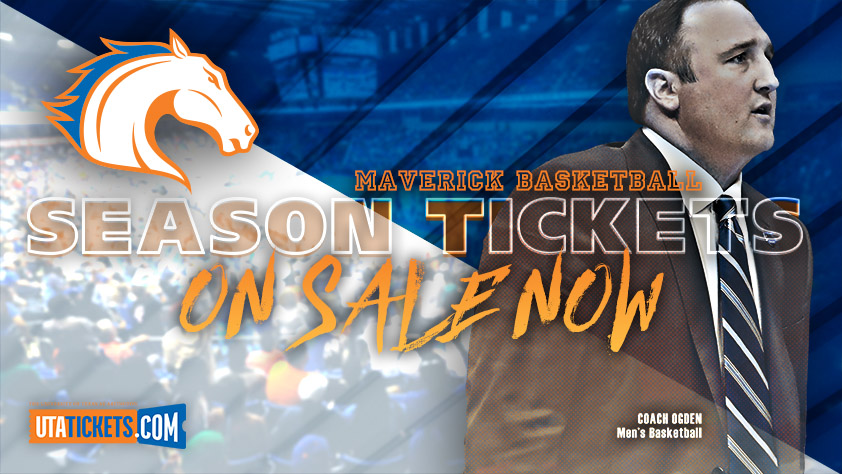 2018-19 UTA Men's  Basketball Season Tickets