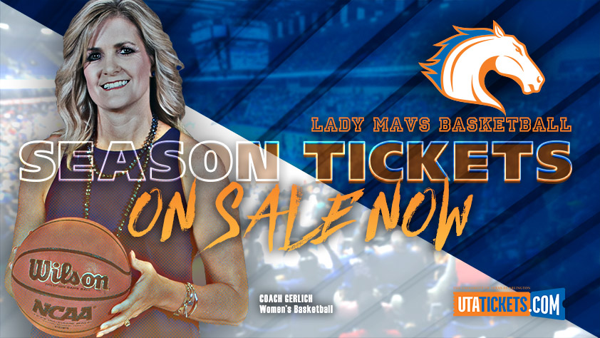 2018-19 UTA Women's  Basketball Season Tickets
