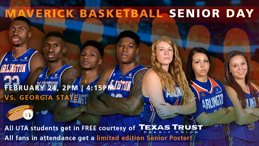 UTA Doubleheader - Women's and Men's Basketball vs Georgia State