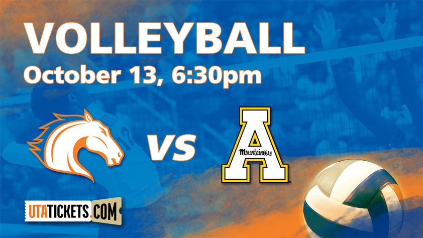 UTA Volleyball vs. Appalachian State
