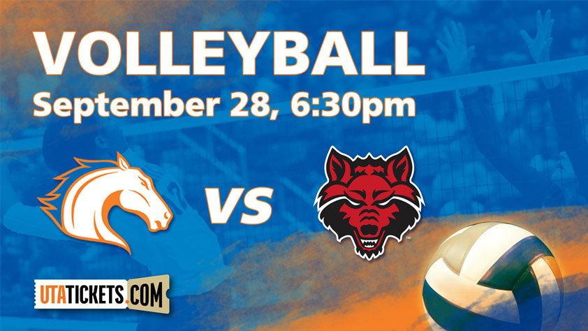 UTA Volleyball vs. Arkansas State