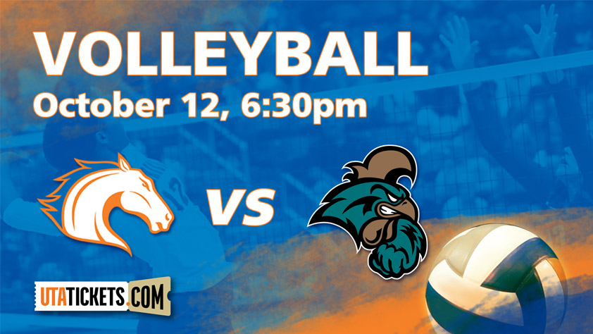 UTA Volleyball vs. Coastal Carolina