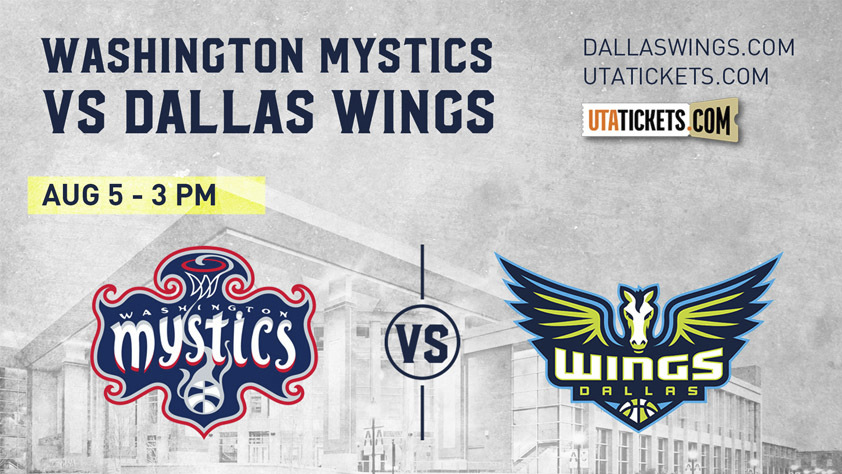 Dallas Wings vs. Washington Mystics