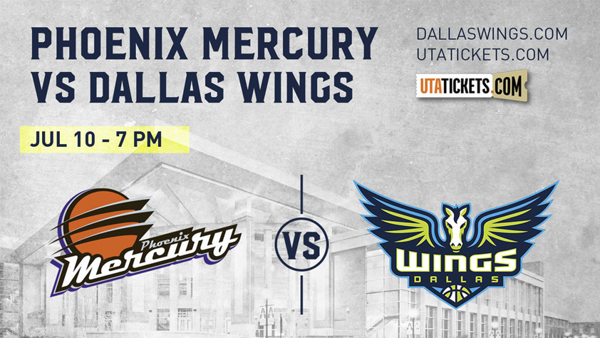 Phoenix Mercury vs. Dallas Wings