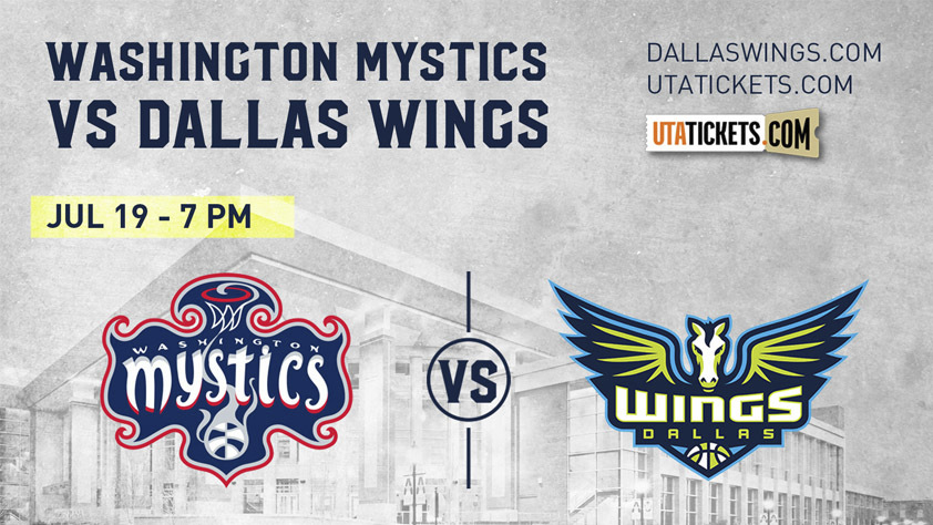 Washington Mystics vs. Dallas Wings