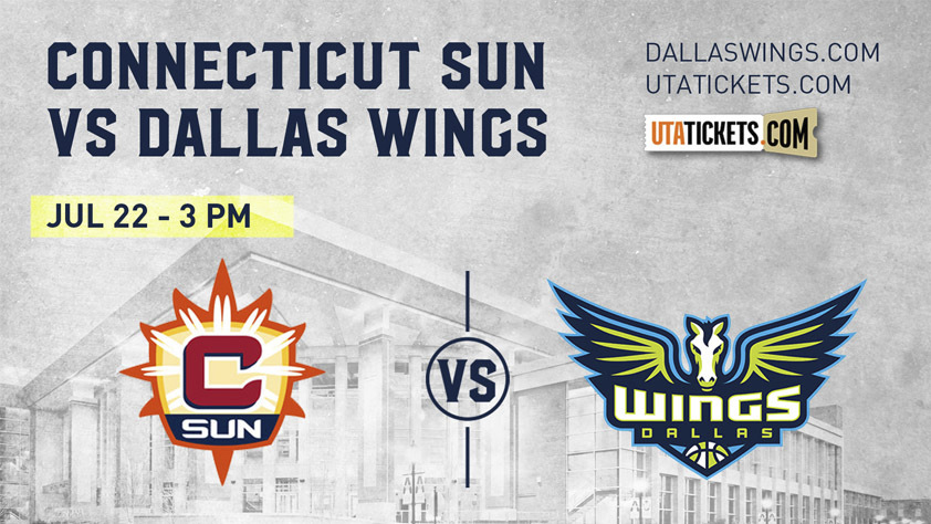 Connecticut Sun vs. Dallas Wings