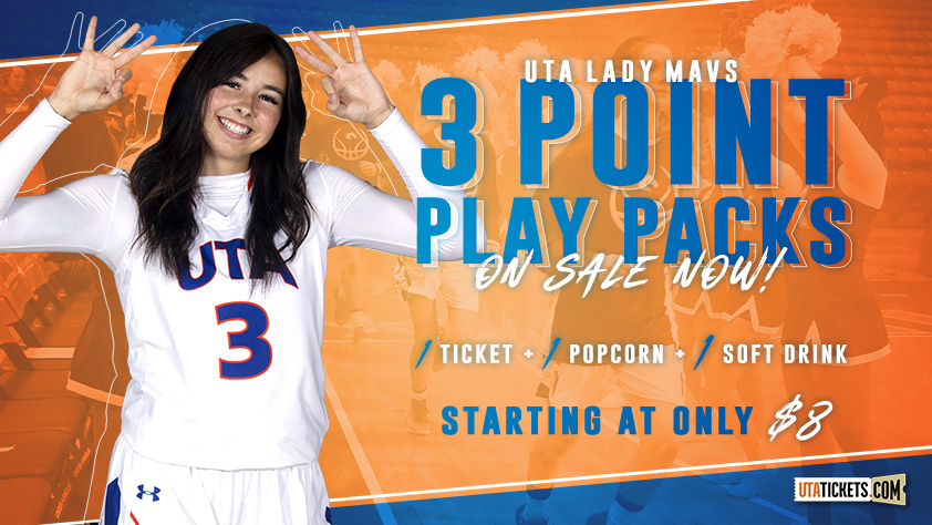 UTA Men's and Women's Basketball 3 Point Play