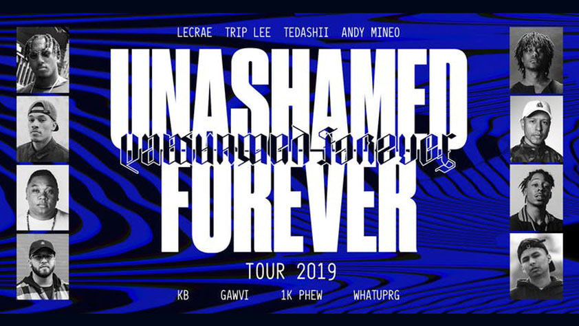 Unashamed Forever Tour 2019