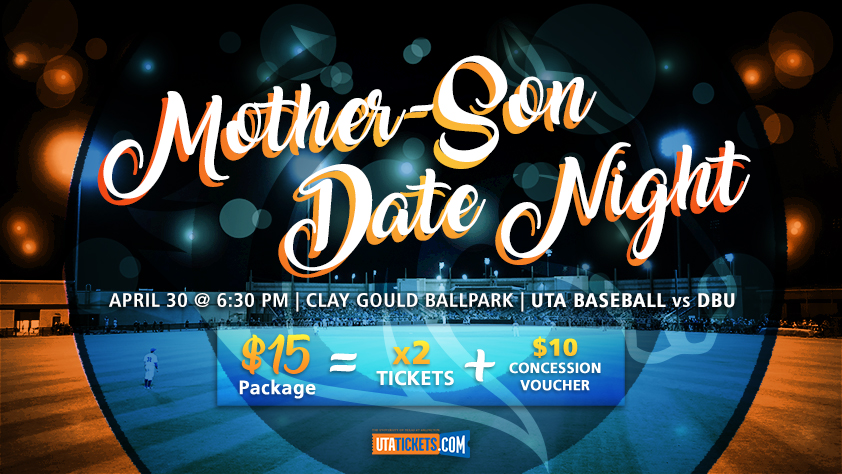 2019 UTA Baseball Mother-Son Date Night (April 30)