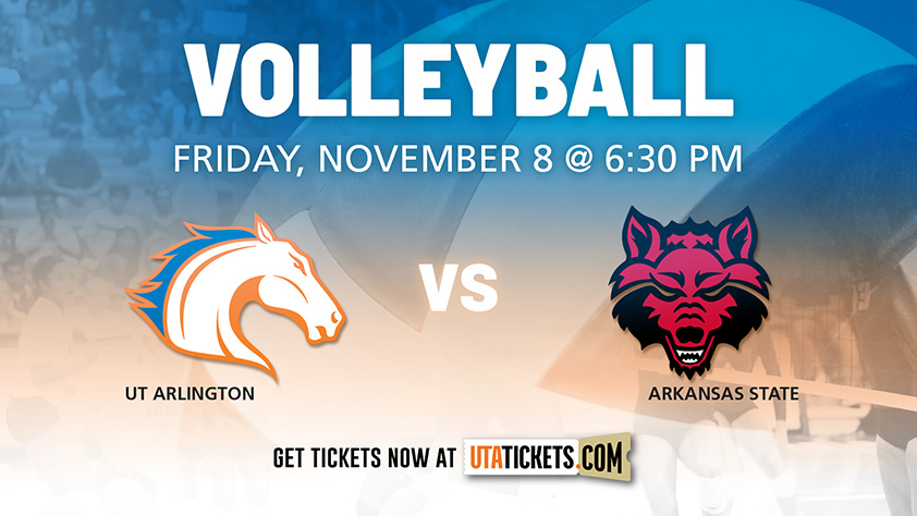 UTA Volleyball vs Arkansas State