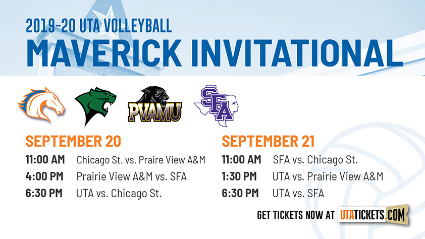 UTA Volleyball Maverick Invitational Day 1