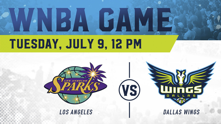 Dallas Wings vs. Los Angeles Sparks