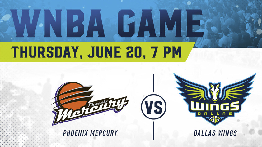 Dallas Wings vs. Phoenix Mercury