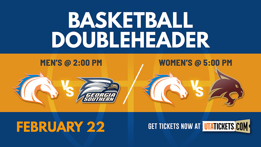 Doubleheader: Men's Basketball vs Georgia Southern and Women's Basketball vs Texas State