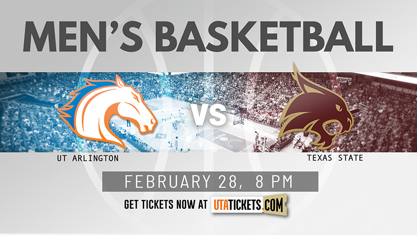 Men's Basketball vs Texas State