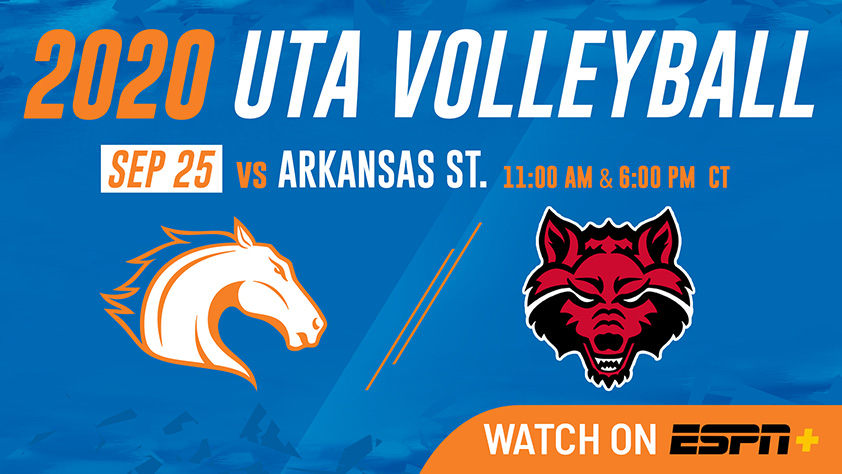 UTA Volleyball vs Arkansas State-Canceled