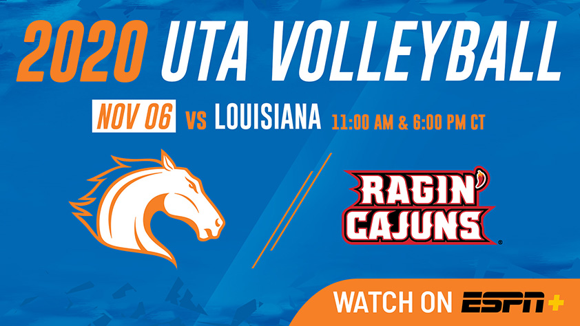 UTA Volleyball vs Louisiana
